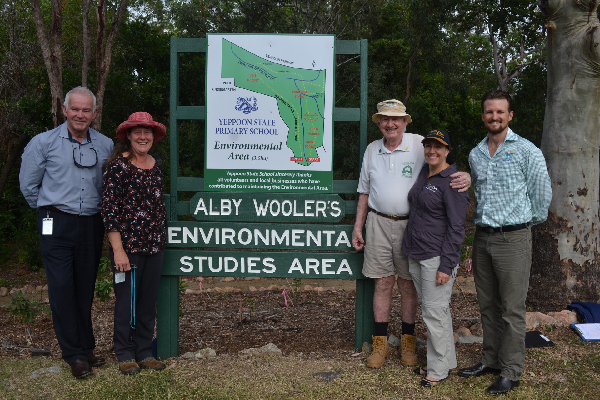 The Envirotrail renamed in honour of Alby Wooler