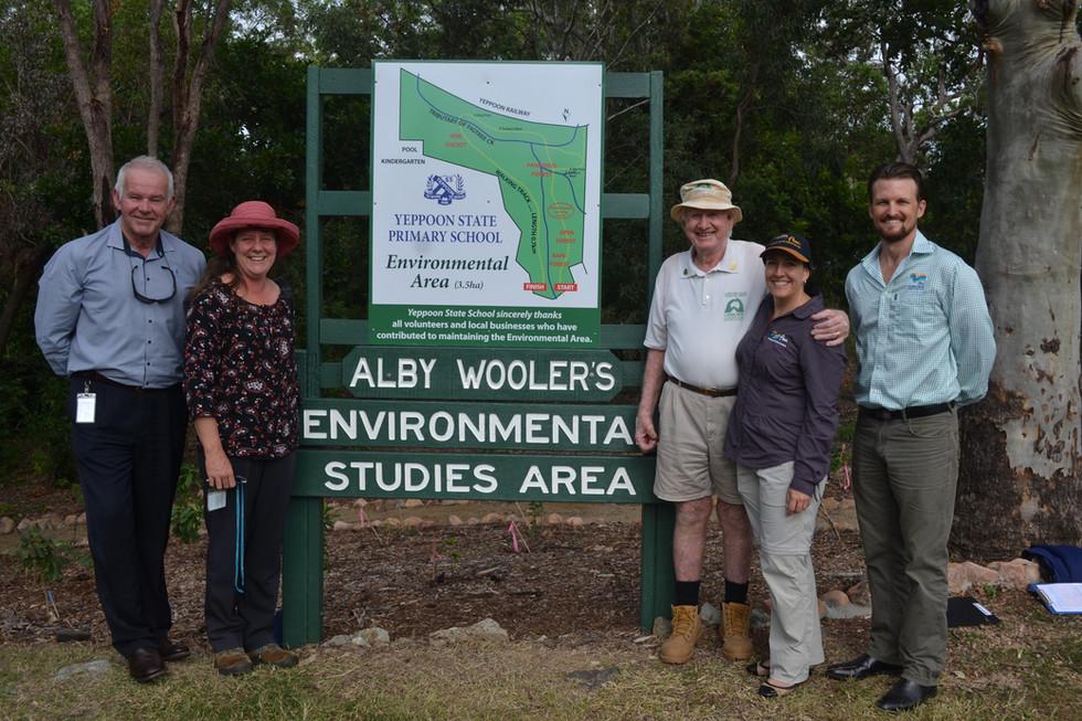 The Envirotrail renamed in honour of Alby Wooler