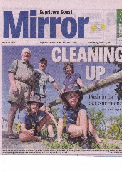 Cleanup Australia Day