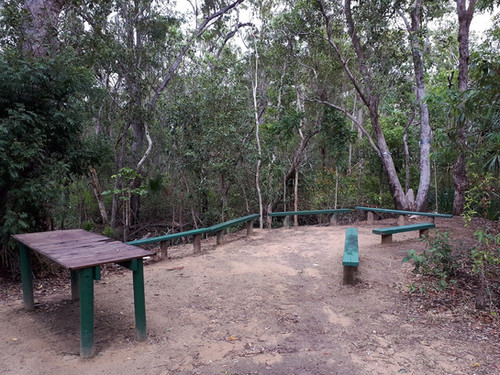 Outdoor learning centre on the Envirotrail