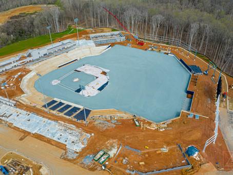 FredNats Ballpark Construction Aerial Update #12, 22 March 2020