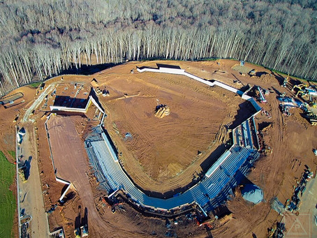 FredNats Ballpark Construction Aerial Imagery Update #3: 12 January 2020