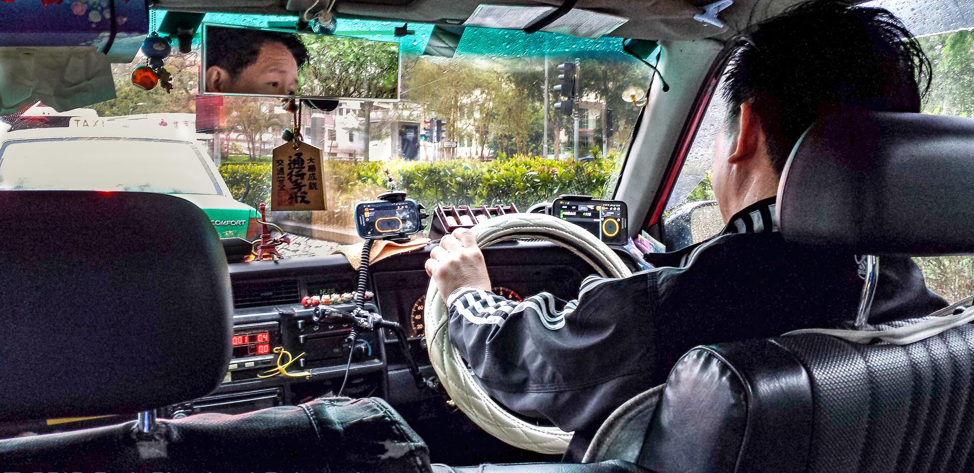 New Territories taxi cab