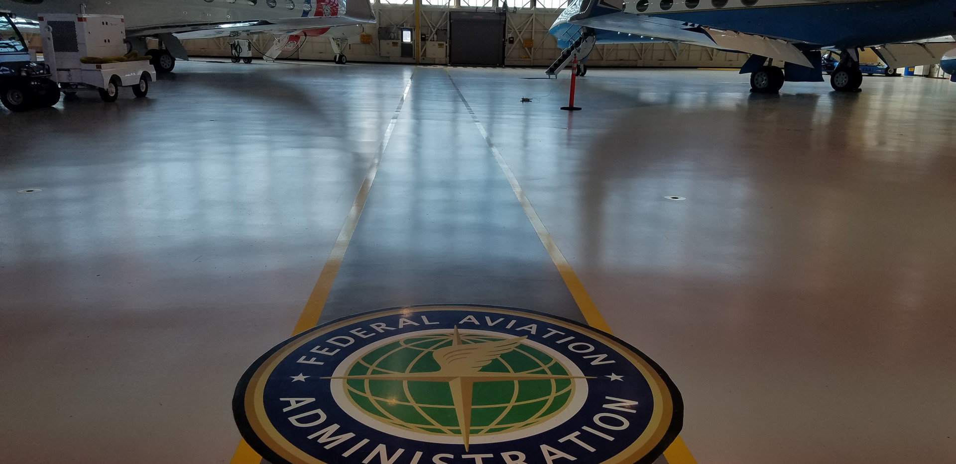 FAA Hangar 6 at DCA