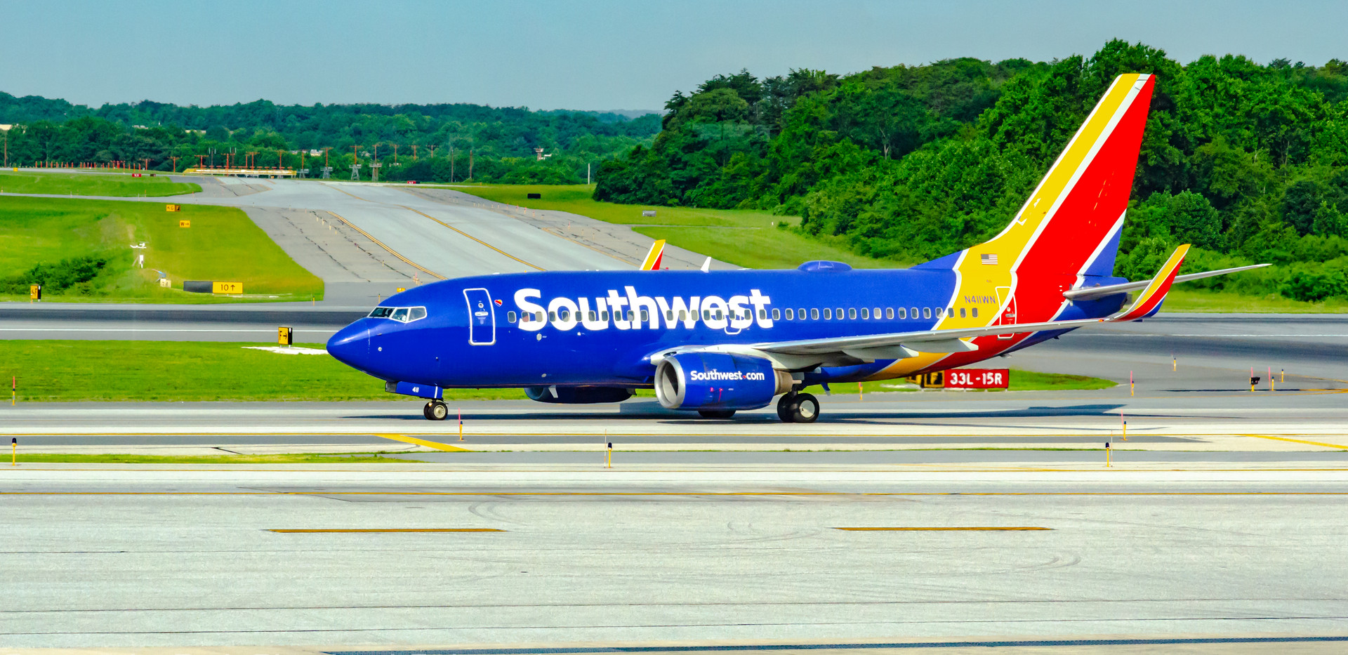 Southwest Boeing 737-700 at KBWI