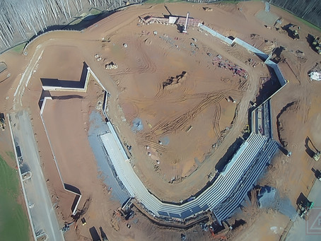 FredNats Ballpark Construction Aerial Imagery Update #2: 5 January 2020