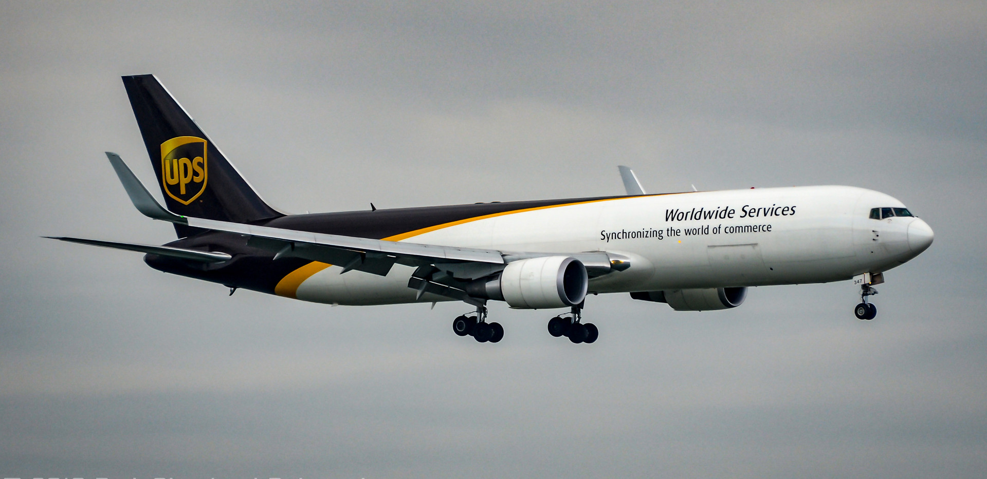 UPS B767 freighter ANC
