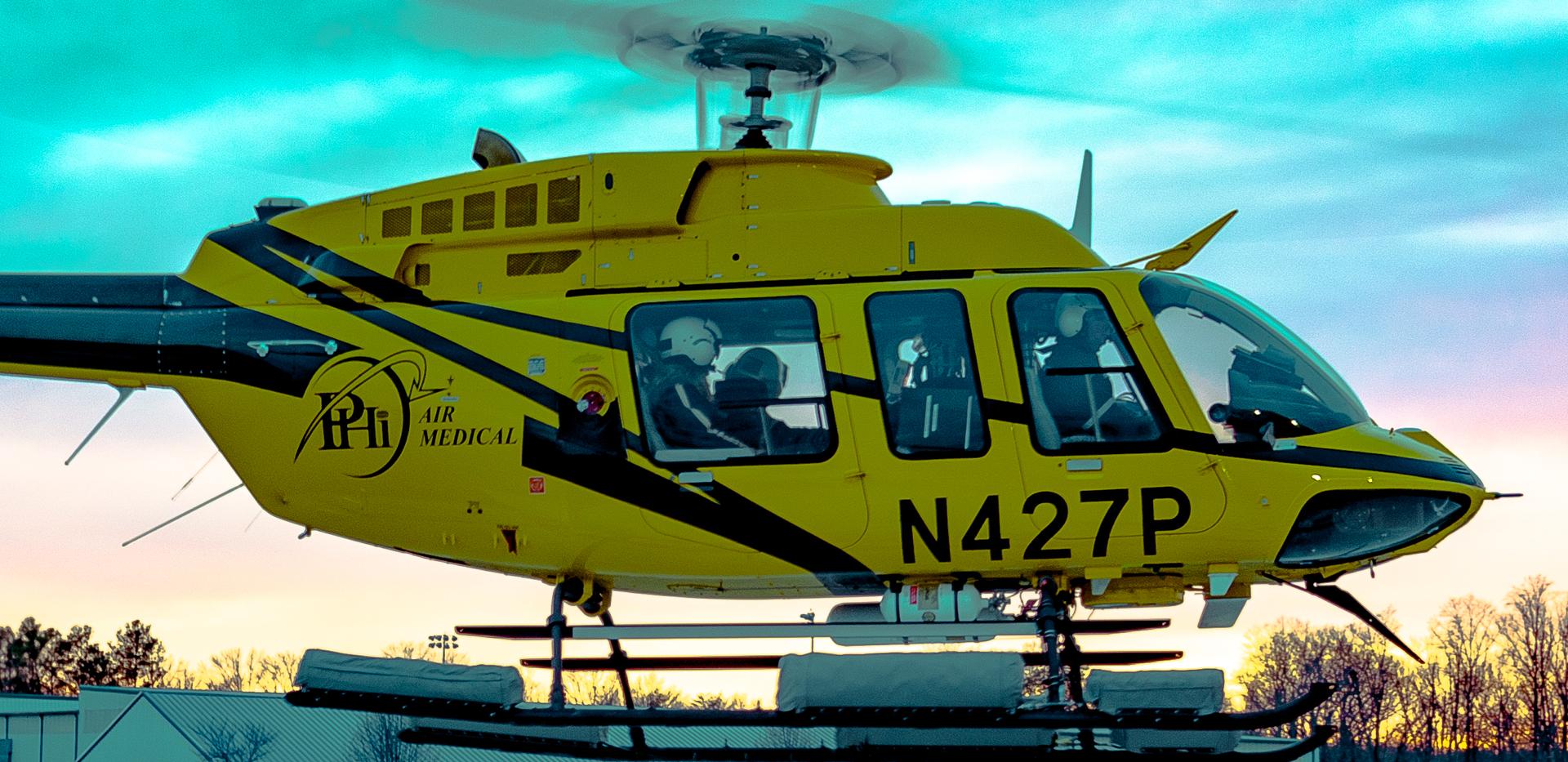 AirCare 2 west departure KEZF