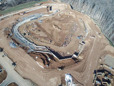 FredNats Ballpark Construction Aerial Imagery Update #1: 26 Dec 2019