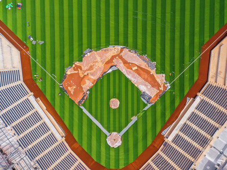 FredNats Ballpark Construction update, 19 April 2020