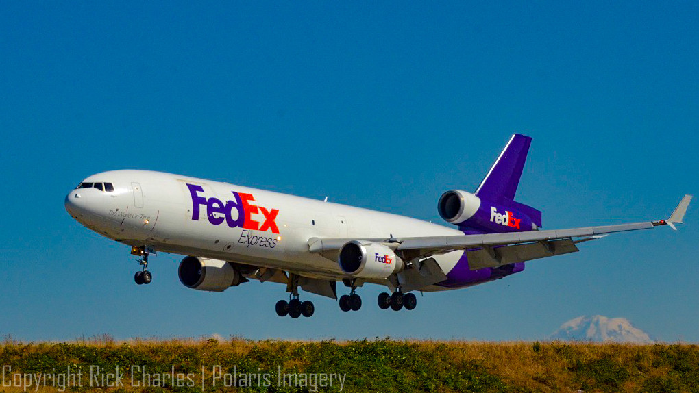FedEx MD11F at KSEA, 2016