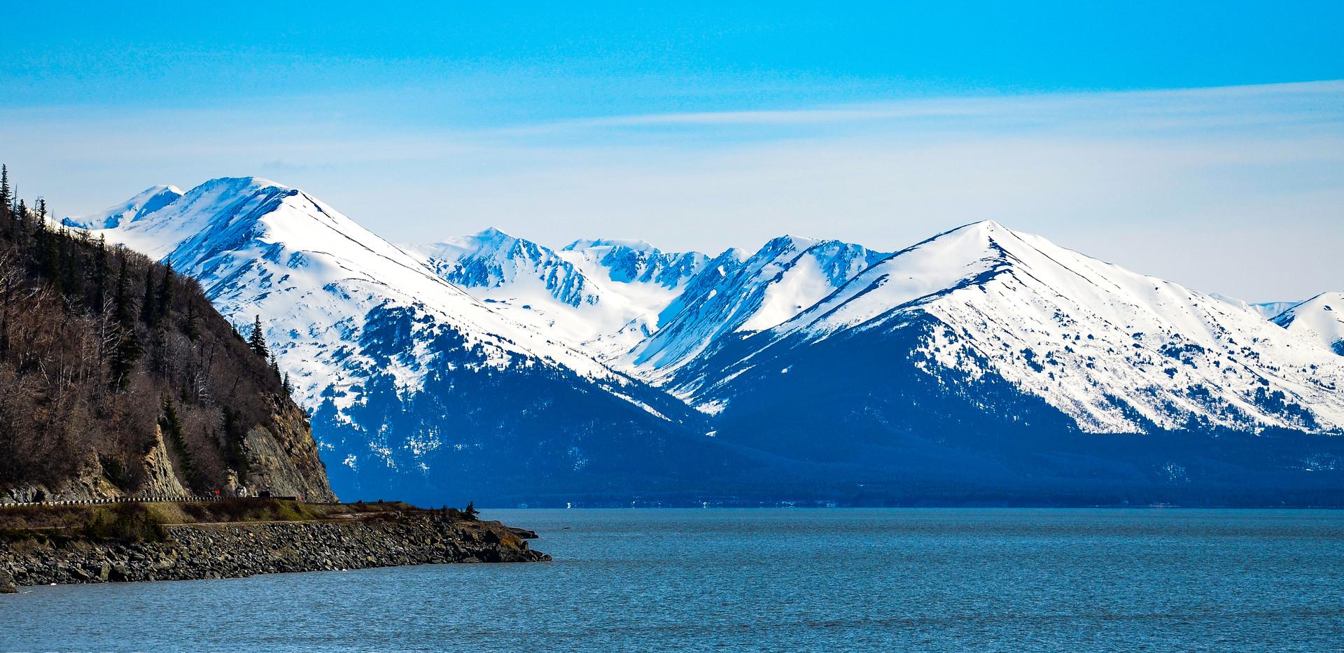 Kenai Peninsula and Turnagain Arm, Alaska
