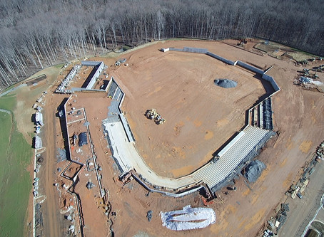 FredNats Ballpark Construction Aerial Imagery Update #5: 26 January 2020