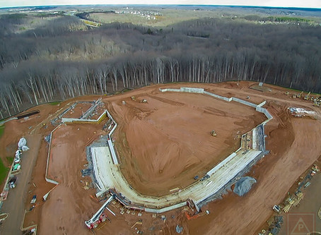 FredNats Ballpark Construction Aerial Imagery Update #4: 19 January 2020