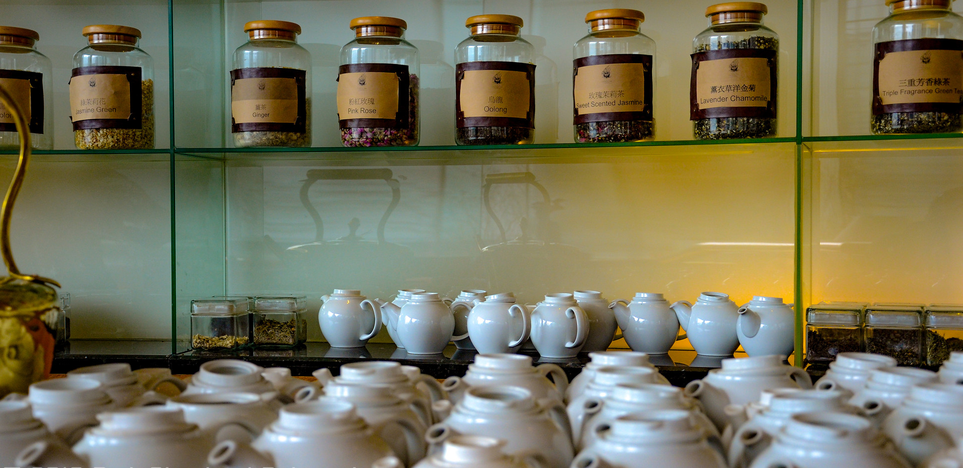 Canton Tea Company teapots