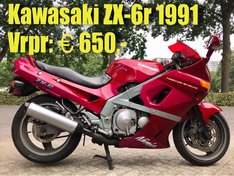 Kawasaki ZX/6r 1991 vrpr 650euro