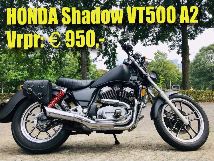 Honda Shadow VT500c 35kw  1988 vrpr 950 euro