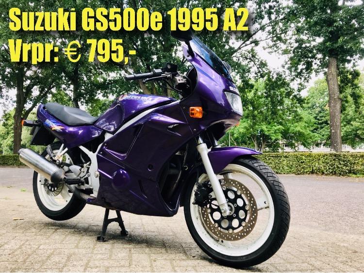 Suzuki GS500e 1995 49.000km vrpr 795 euro