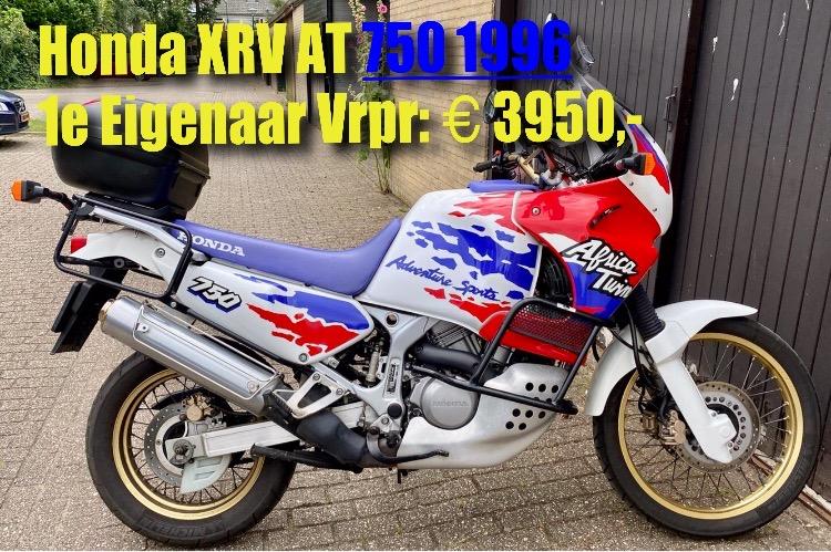 Honda XRV 750 African Twin 1996  €3950,-