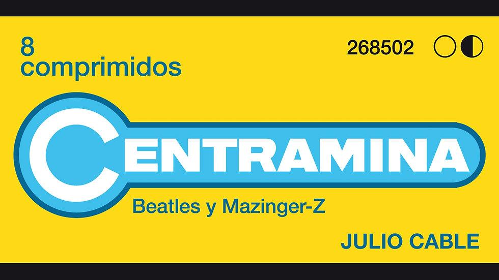 """CD Físico """"centramina, Beatles y Mazinguer Z"""""""