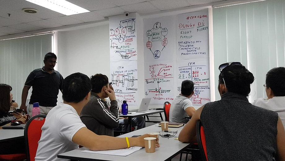 Học viên CFMglobal tại Kuala Lumpur