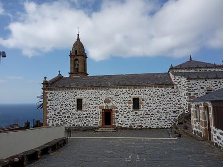 March sunshine and Galician coastlines