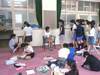 子ども達の椅子作り