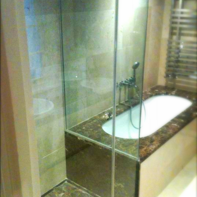 Shower Enclosed