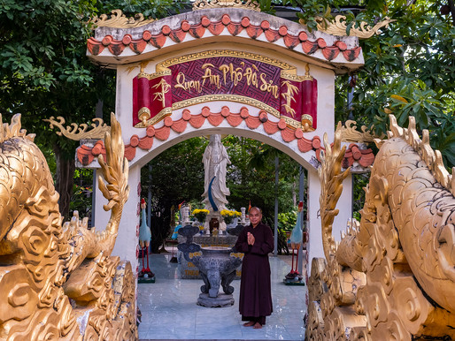 At Huyen Trang Pagoda, Spirituality, Charity Campaigns and a Home for Stray Kittens.