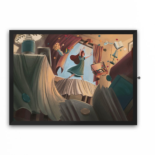 """Matilda""- Artwork Print"