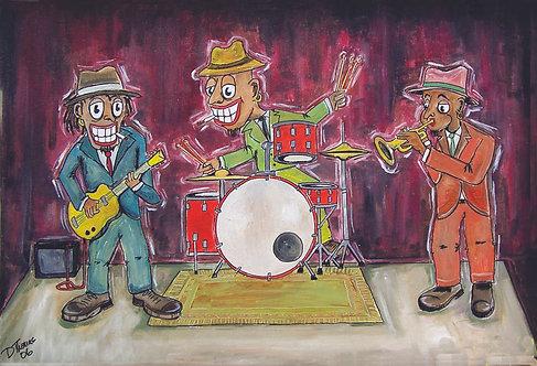 """Three Amigos"" Art Print"