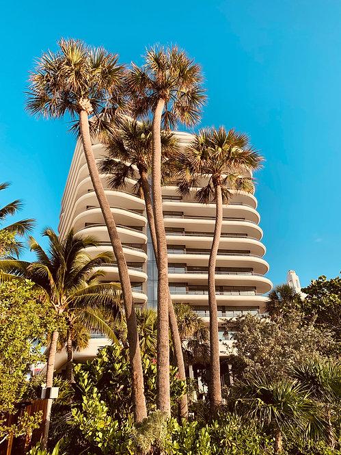 """Miami Beach Walk"" Photography Print"