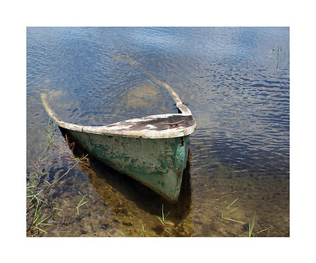 """Boat Submerged"" Photography Print"