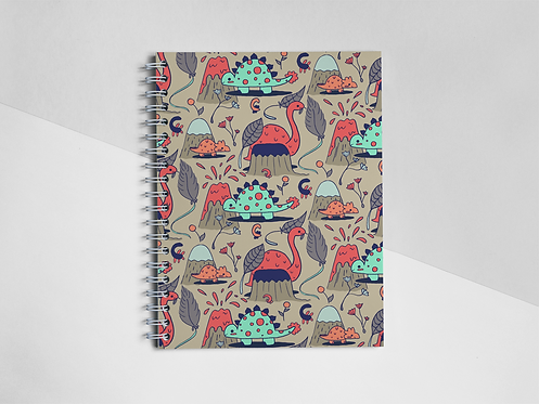 """Dino Forest"" Notebook"