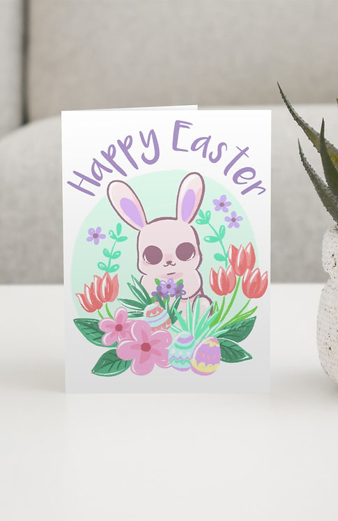 """Happy Easter"" Blank Card"