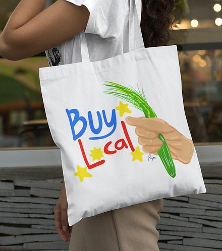 """""""Buy Local"""" Tote Bag"""
