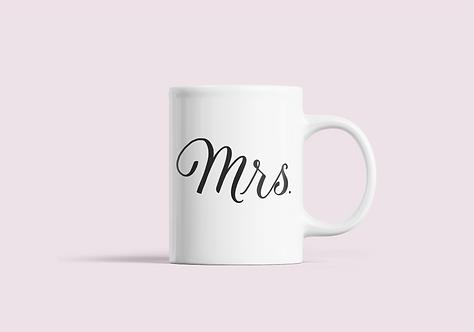 """""""Mrs."""" Mug"""