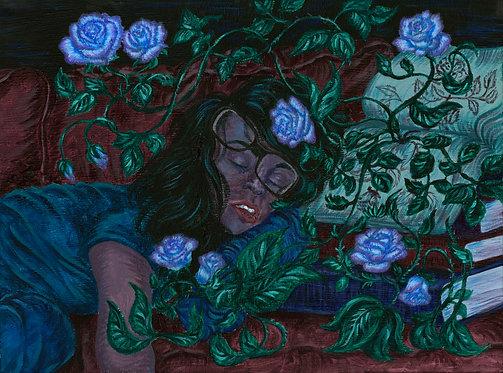 """Sleeping Grace"" Art Print"