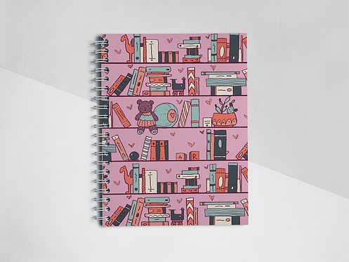 """Bookshelf"" Notebook"