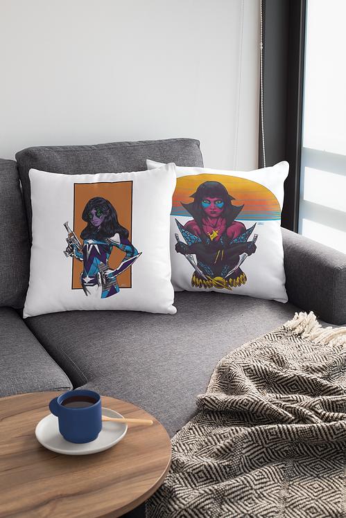 """Cosmic Warriors"" Pillowcover Set"