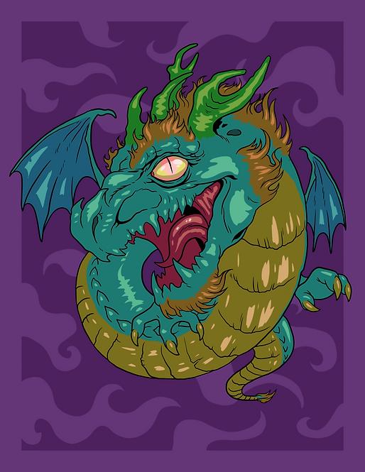 """""""Dragon"""" Art Print"""