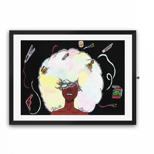 """""""Ebonee Queen"""" Art Print"""