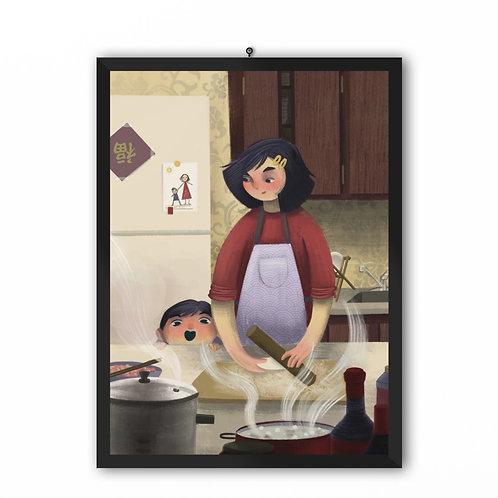 """""""Dumplings"""" Art Print"""