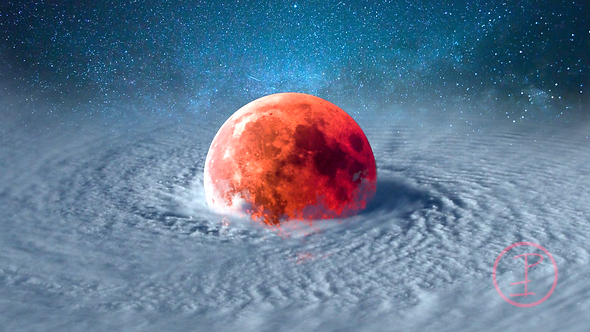 """Typhoon Moon"" Artwork Print"