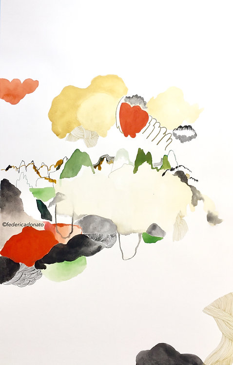 """Goldenland"" Art Print"