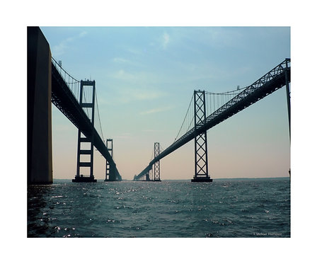 """Chesapeake Bay Bridge"" Photography Print"