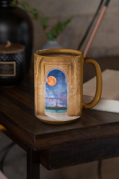 """Dreaming of A Faraway Place"" Ceramic Mug"