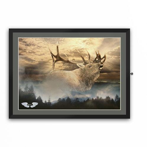 """Elk Bugle"" Art Print"