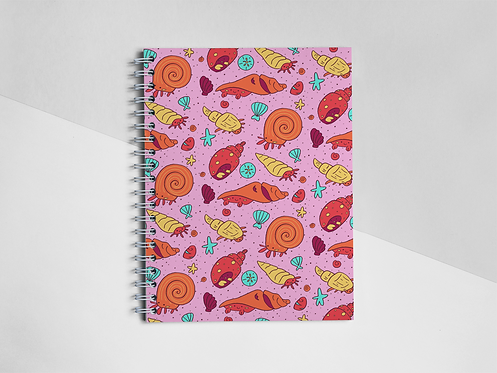 """""""Day At The Beach"""" Notebook"""