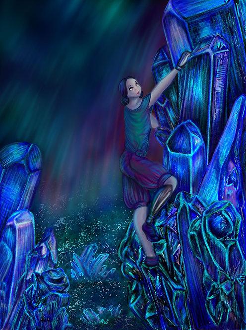 """Crystal Mountain""- Artwork Print"